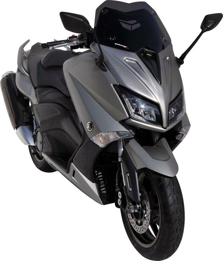 Ermax propose une face avant et des bulles pour le Yamaha T-Max 530 2015