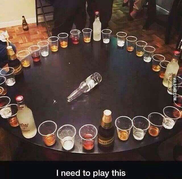 House party drinking games