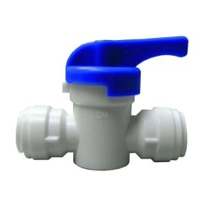 Quick Connect 1 4 In Plastic Straight Valve Home