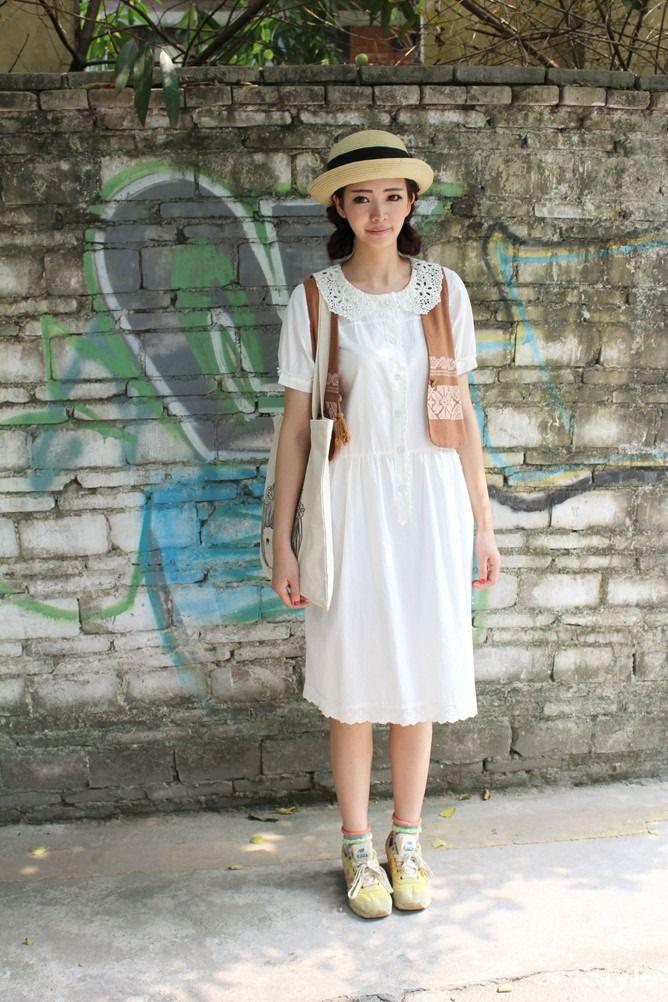 Japan Fashion Summer Dress