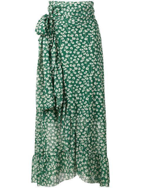 53d46bb1a GANNI Capella Mesh Floral Print Skirt. #ganni #cloth #skirt | Ganni ...