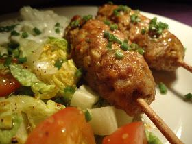 LCHF-bloggen: Kyllingkebab