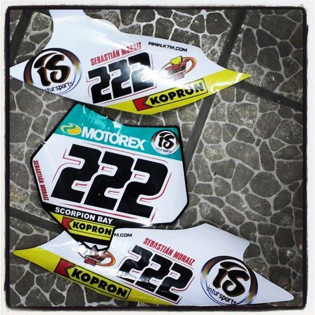 #diseño #ktm #vinilo #calcos #stikers