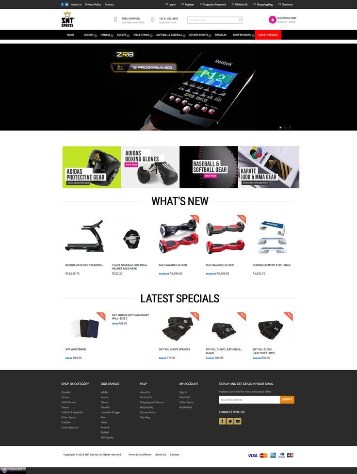 SNT Sports - Sports Online Shop