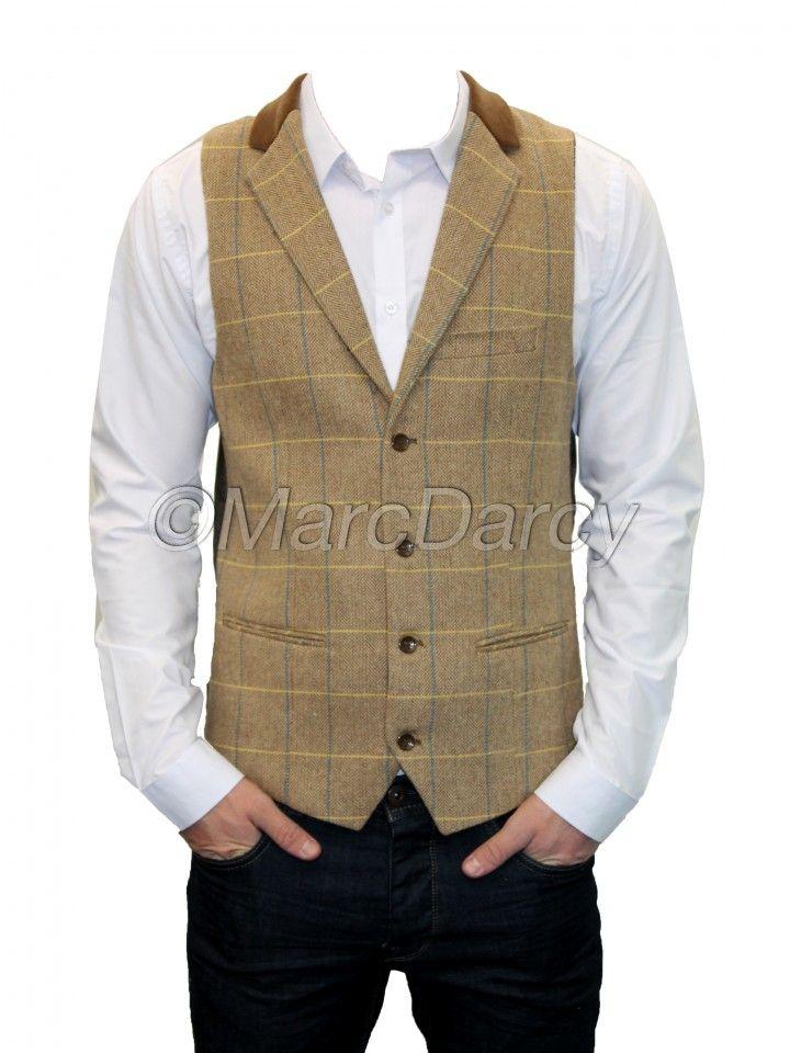marc darcy oak waistcoat