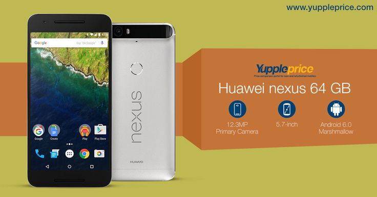 Huawei Nexus 64GB | 12.3MP primary camera with auto focus | 5.7-inch.  #Huaweinexus
