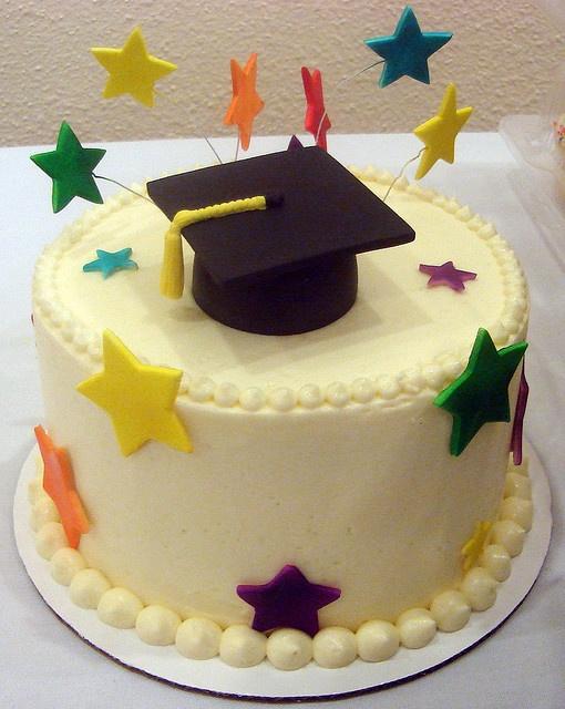 Preschool Grad Cake