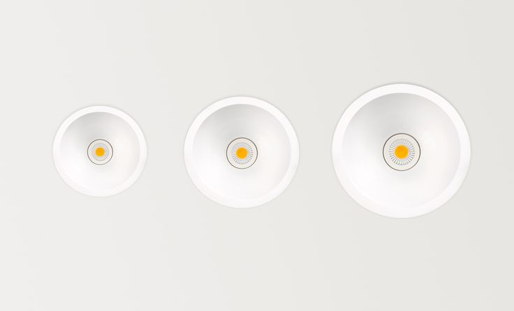 Swap sizes S M L - LED luminaire. Ceiling downlight (Ceiling Recessed). — in Arkoslight.