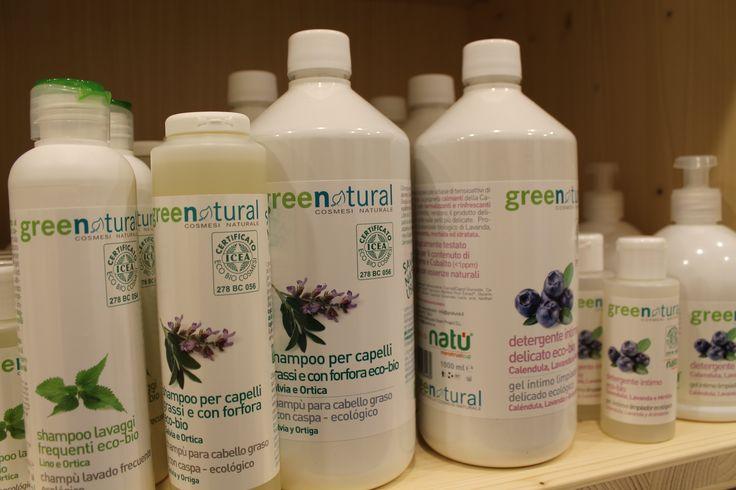Proteggendo i tuoi #capelli con i nostri #shampoo #greenatural, proteggerai anche l'#ambiente. #Ecobio #Cosmesi