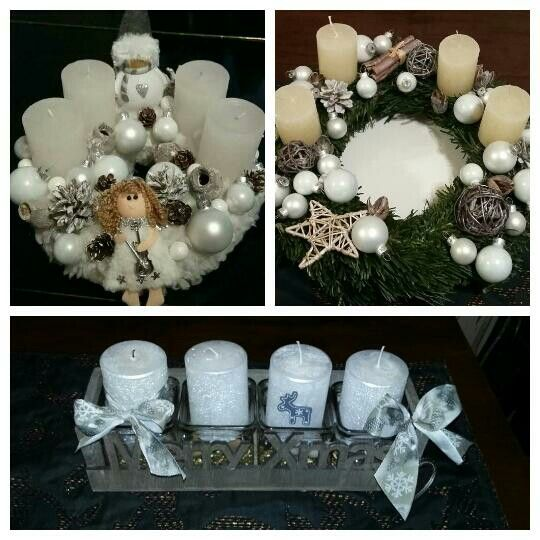 Home made  advent wreath