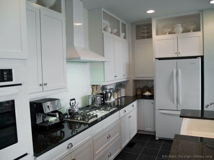 Modern black and white kitchen island hood designer kitchens la - 69 Best Black And White Kitchens Images On Pinterest