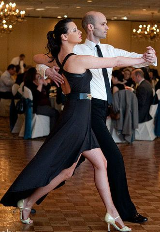 Bridegroom Met At A Tango Class So They Brought In Two Dancers For Performance And Group Lesson Their Wedding