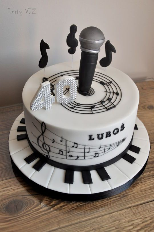 263 Best Images About Black And White Cakes On Pinterest