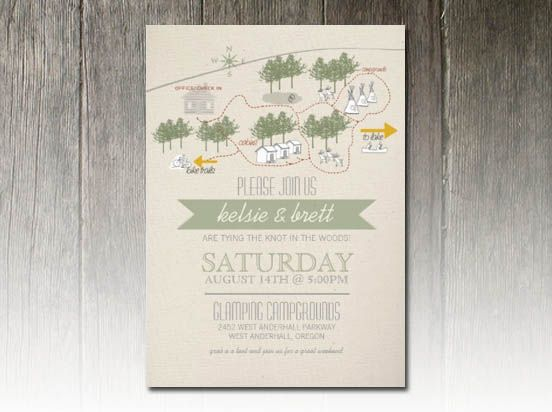 Camping Wedding Invitations: 18 Best Camping Weddings Images On Pinterest
