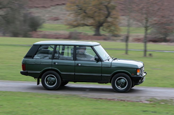 Perhaps a green Range Rover Classic (1995/Facelift) for tooling around the countryside?