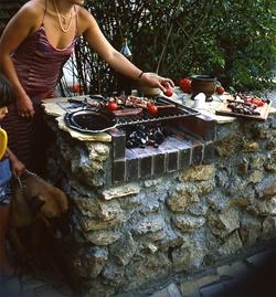 les 25 meilleures id es concernant barbecue en pierre sur pinterest bar en pierre cuisine t. Black Bedroom Furniture Sets. Home Design Ideas