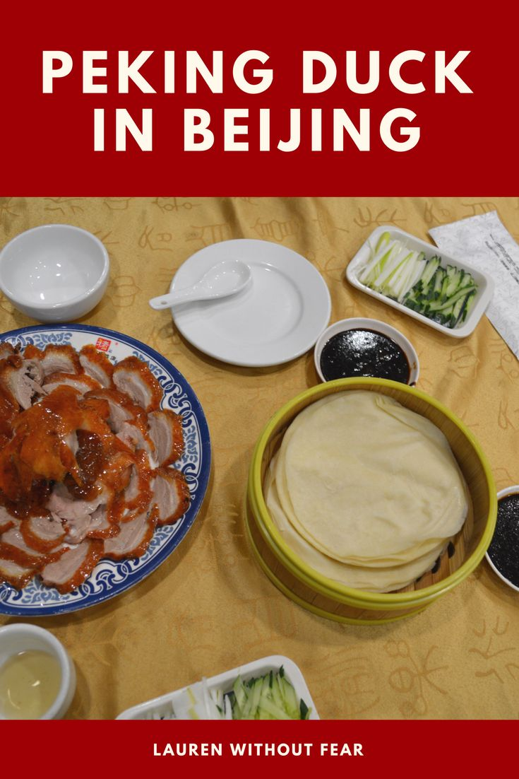 Peking Duck In Beijing | China Travel Guide Tips Advice | Roast Duck China | Food What To Eat