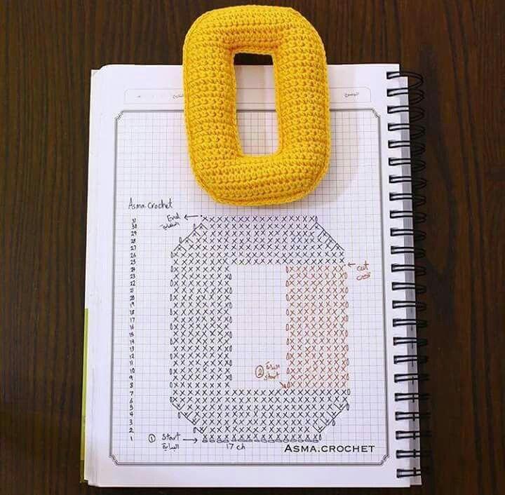 Mejores 11 imágenes de letters haken en Pinterest | Abecedario ...