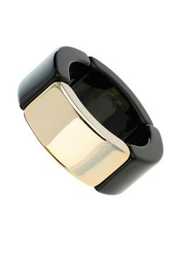 Plastic And Metal Bangle bracelet by Wallis - $18