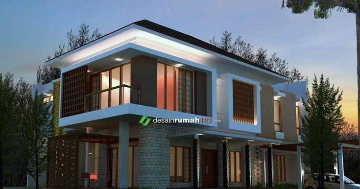 Desain Rumah Hook 2 Lantai Di Lahan 18 X 21 M2 Dr 1821 Inspirasi Desain Rumah Hook Bergaya Minimalis Modern 2 Model R Minimalis Rumah Desain Rumah 2 Lantai