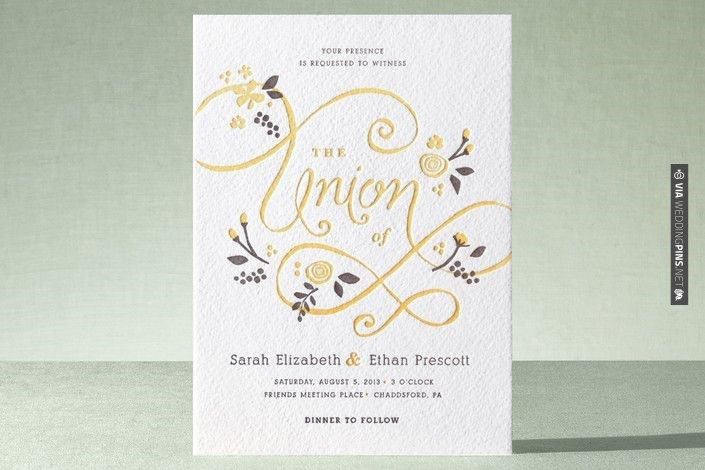 Love this! - A More Perfect Union Letterpress Invitation  |  Minted | CHECK OUT MORE IDEAS AT WEDDINGPINS.NET | #weddings #rustic #rusticwedding #rusticweddings #weddingplanning #coolideas #events #forweddings #vintage #romance #beauty #planners #weddingdecor #vintagewedding #eventplanners #weddingornaments #weddingcake #brides #grooms #weddinginvitations