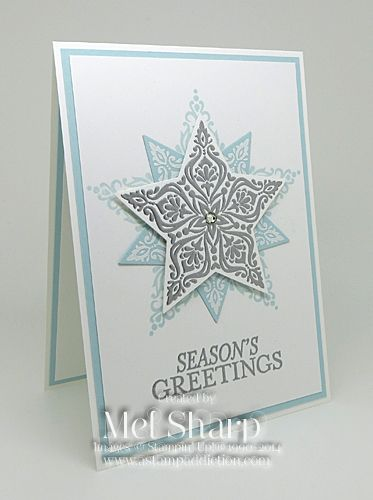 133 best SU Bright  Beautiful images on Pinterest Christmas cards