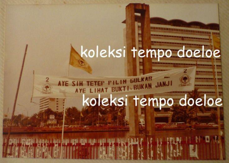 Koleksi Tempo Doeloe: Satu Album, 101 bh. Foto langka dari Kampanye Pemilu th.1982 di Jakarta