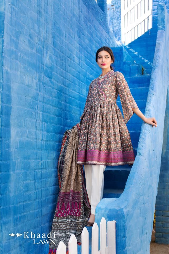 Khaadi Lawn Collection 2017-6 – AN Fabrics