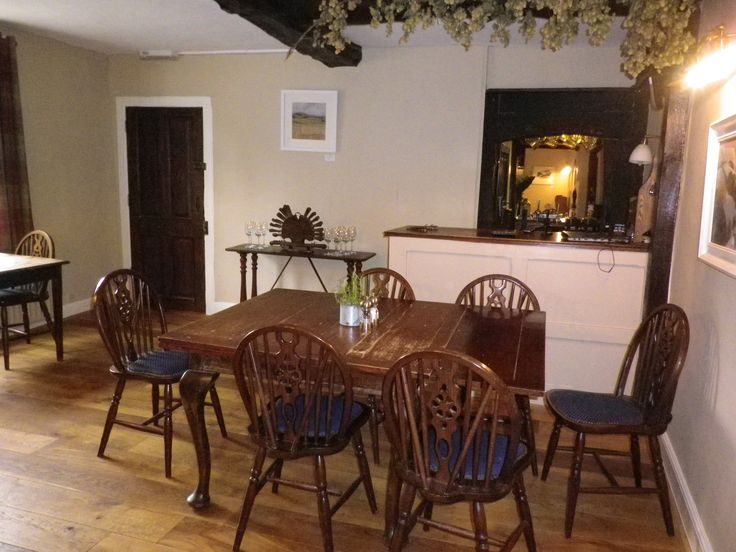 """The Riverside at Aymestrey set in the heart of Herefordshire near Ludlow and Hereford, on the edge of The Mortimer Forest. Fabulous local restaurant - booking essential. It also has a couple of """"dog friendly"""" tables. About 10 miles from us at Hopton House"""