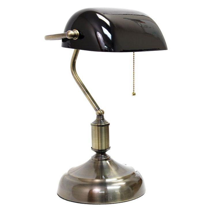 Best 25 bankers desk lamp ideas on pinterest bankers lamp simple designs executive bankers desk lamp black lt3216 blk mozeypictures Image collections