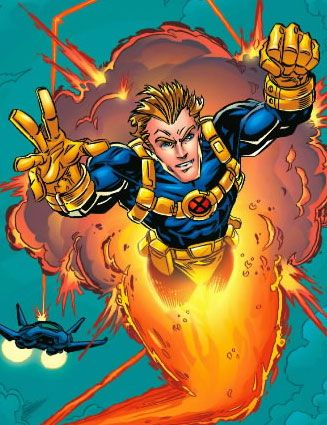 Cannonball- excluding the superman and and other obvious powers, I think cannonball has the power I would want most. Flight, bulletproof, and an aura that gives you a great presence if you need to make a point.