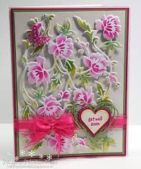 "Image result for Cuttlebug® 5""X7"" Die By Anna Griffin-Flower Bramble"
