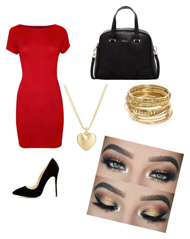 """""""Untitled #11"""" by valentinarodriguez-iii on Polyvore featuring WearAll, Furla, ABS by Allen Schwartz and Finn"""