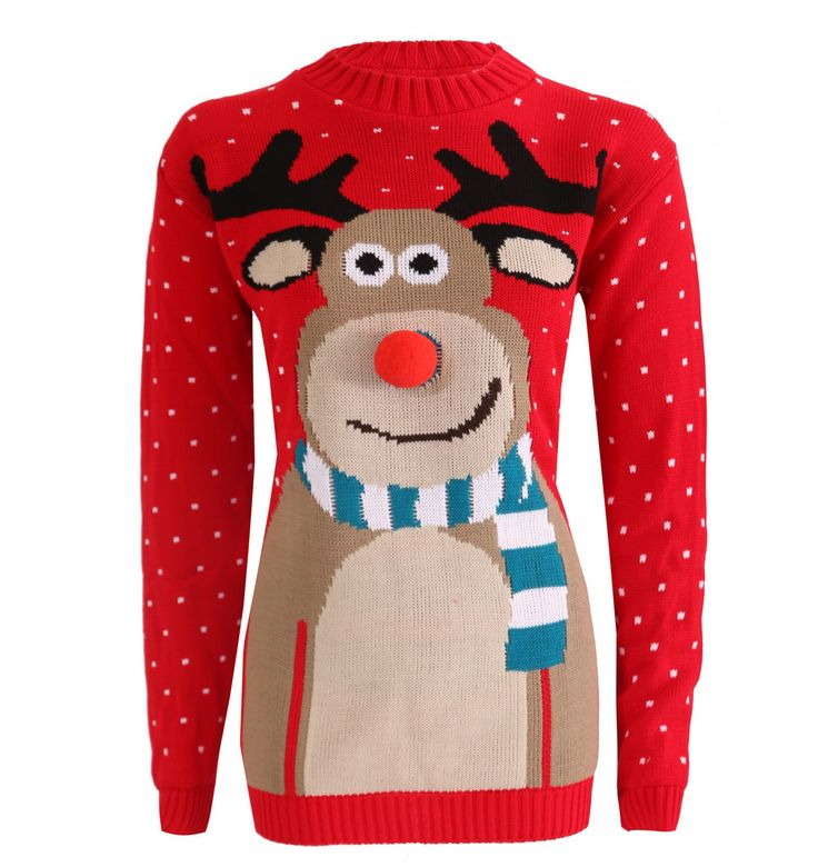 Get the latest reindeer 3d ugly Christmas sweater for your party. Ugly sweater for the Christmas party! Collection of Christmas 3D Rudolph sweaters and Xmas jumpers for both men and women for the ugly sweater party day At uglychristmassweatersale.com  Ugly Christmas sweater, Christmas sweater, party costume, diy Christmas, tacky, funny, cheap ugly sweater