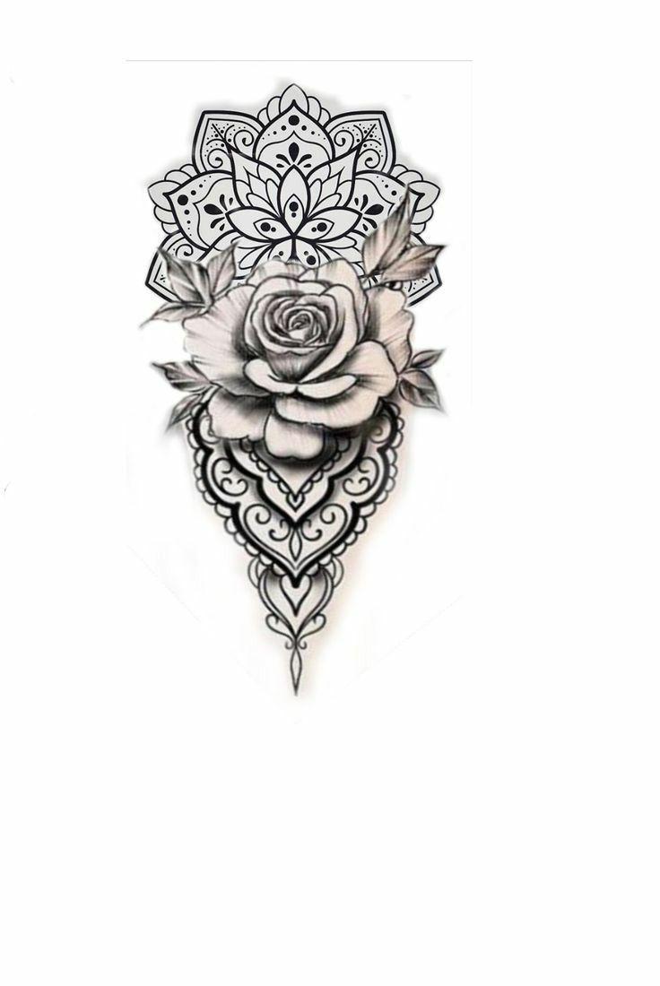 White Background Tattoo For Man And Woman Tattoos For Guys Sleeve Tattoos Rose Tattoos For Women