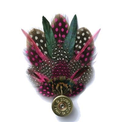Game Feather on Cartridge Top pin - Mother's Day gifts from Fur Feather and Fin