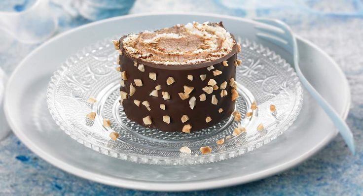 Bûche chocolat crème de marron