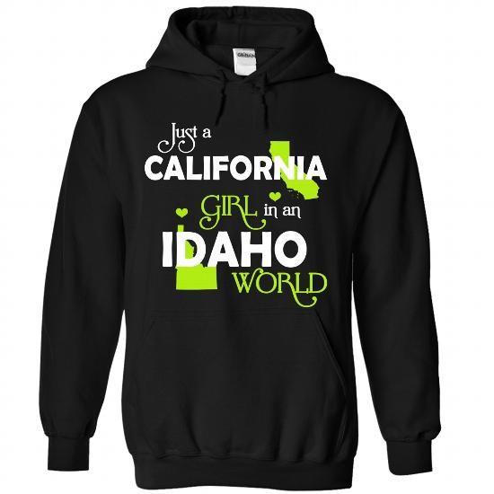 A CALIFONIA-IDAHO girl Lime03 - #monogrammed gift #bestfriend gift. THE BEST  => https://www.sunfrog.com/States/A-CALIFONIA-2DIDAHO-girl-Lime03-Black-Hoodie.html?60505
