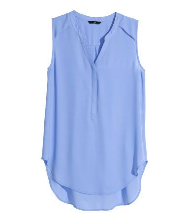 H&M Sleeveless blouse $19.95