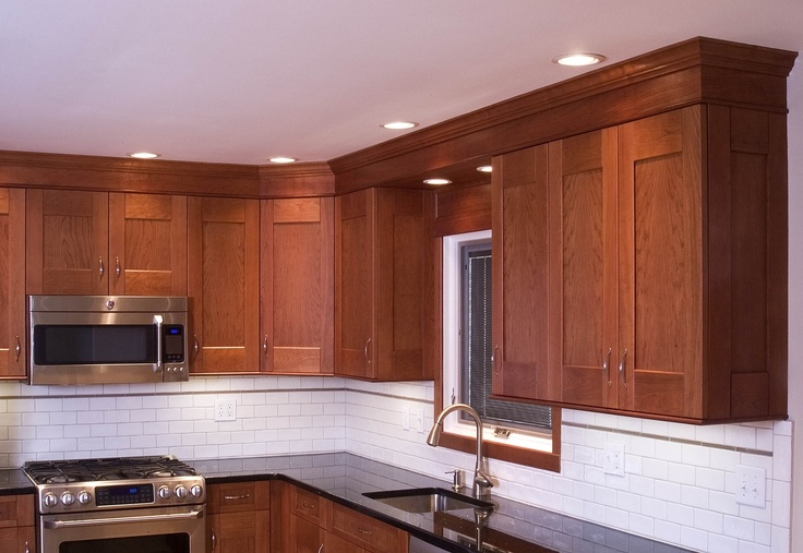 1000 Ideas About Cherry Wood Kitchens On Pinterest Cherry Cabinets, Kitchen Photos And Dark photo - 2