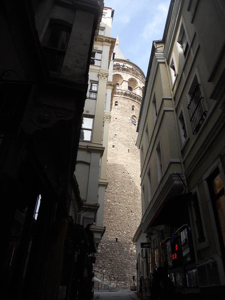 Ve Galata Kulesi karşıladı bizi