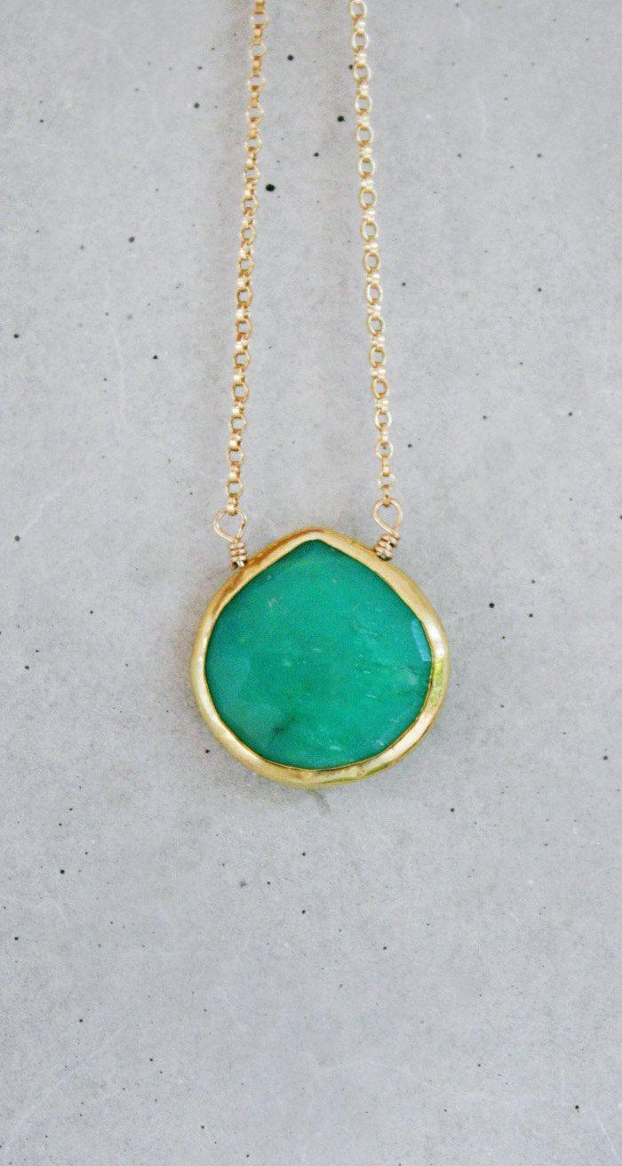 Gold + Green.