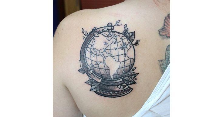 Black Ink Globe