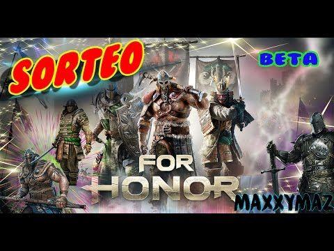 SORTEO DE CUENTA para la  beta cerra de for honor ps4 xbox one pc español