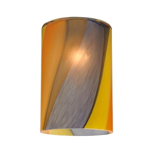 Design Classics Lighting Cylinder Art Glass Shade With