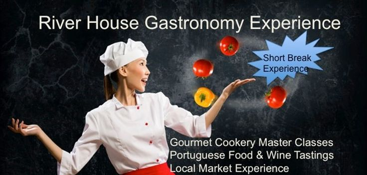 """Stay at the Algarve River House and book the """"River House Gourmet Experience"""", a 5-day extravaganza that combines culinary delights with a holiday cooking course, http://www.greatholidaylocations.com/things-to-do/river-house-gourmet-experience/ #foodie"""