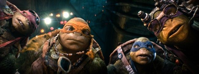 #NinjaTurtles prend la tête du box office US pour son premier week-end en salles