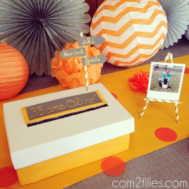 25 best ideas about anniversaire 35 ans on pinterest 60. Black Bedroom Furniture Sets. Home Design Ideas