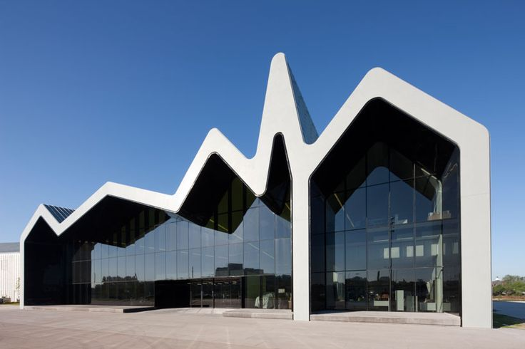 zaha hadid: riverside museum of transport