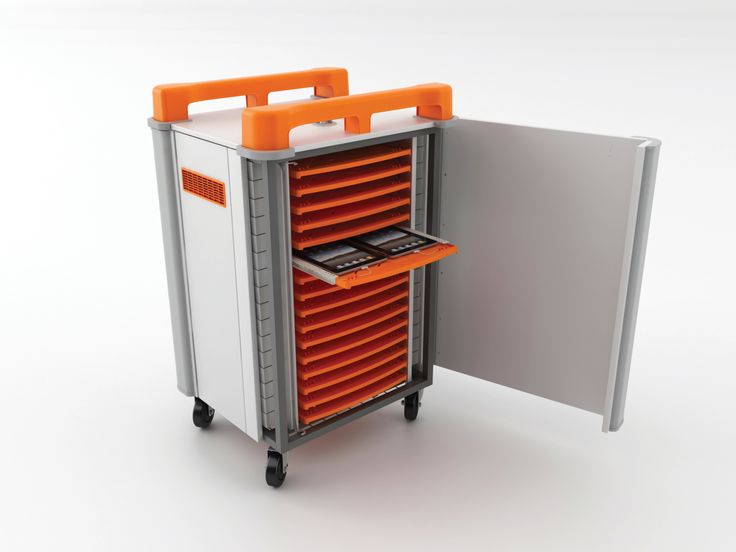 TabCabby 32 charging and storage trolley